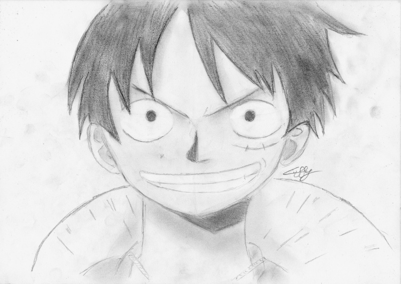 Comment dessiner luffy - Comment dessiner luffy ...