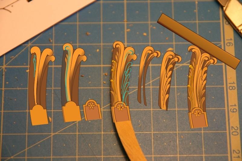 Sculpture feuille d 39 acanthe herpe de l 39 aurore - Feuille d acanthe ...