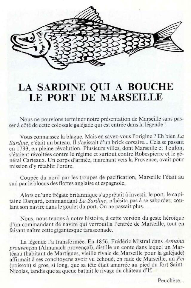 La veritable histoire de la sardine - Sardine port de marseille ...
