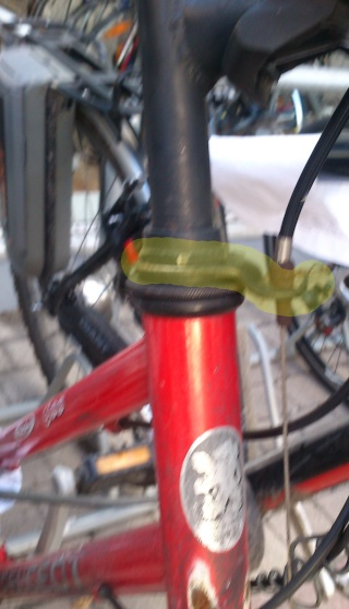 Frein Cantilever cable hanger avant de nouvelles parties de bicyclettes