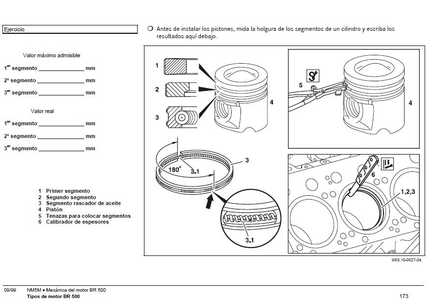 actros br 500 manual motor