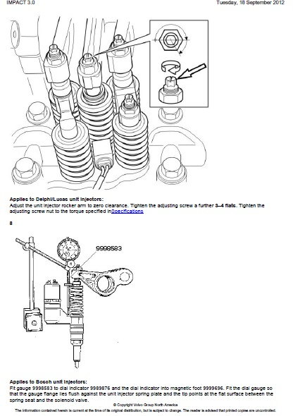 Volvo Nh Valves And Unit Injectors Adjust on mack truck wiring diagram