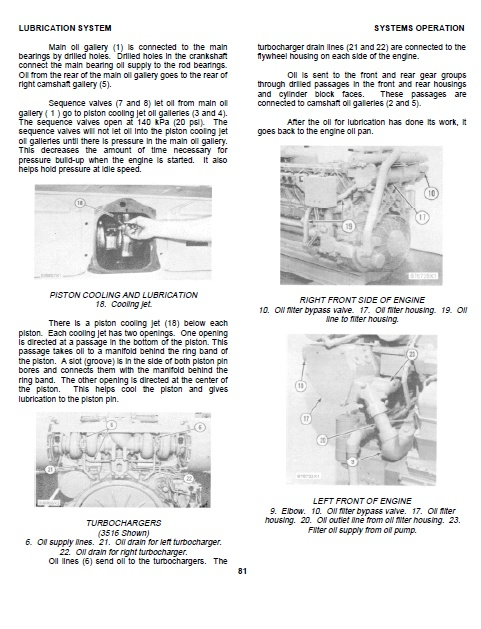 Cat 3512 Workshop manual