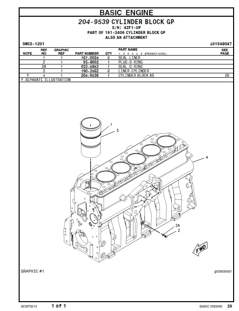 cat d6r series ii parts manual truck- type tractor