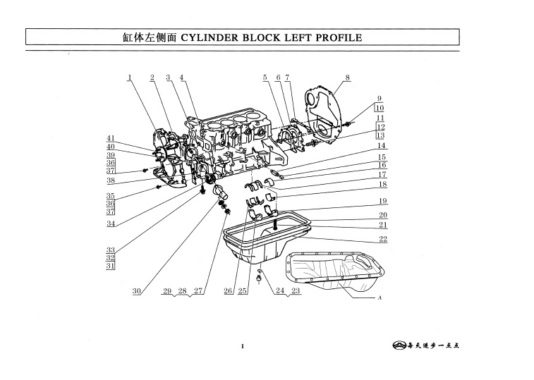 greatwall 491qe engine spare parts catalogue