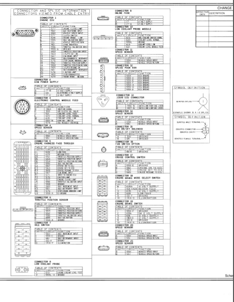 cummins n14 ecm wiring diagram