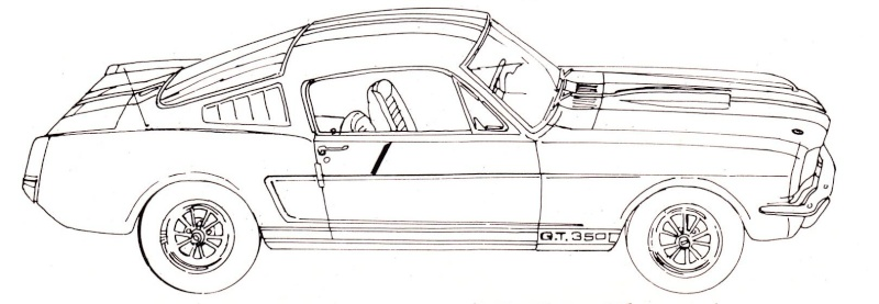 Mustang 224 Colorier