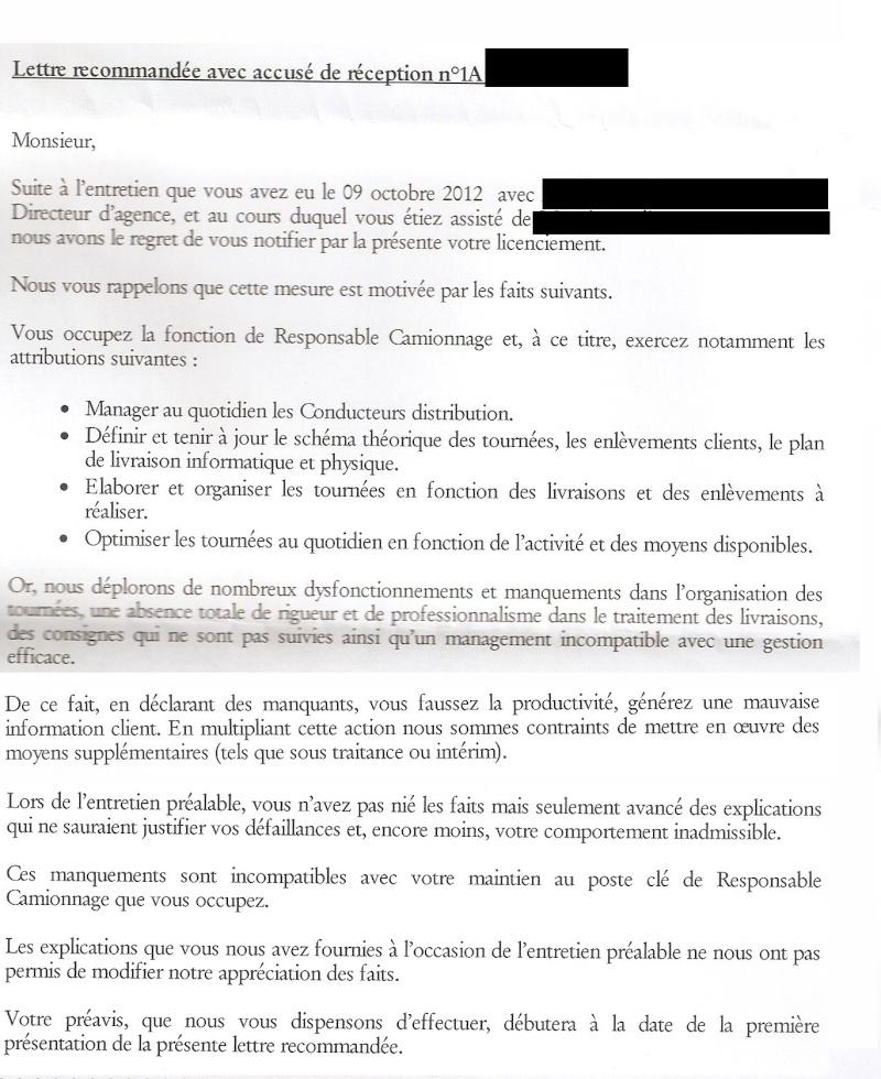 Lettre De Licenciement Cesu 28 Images Lettres De Licenciement