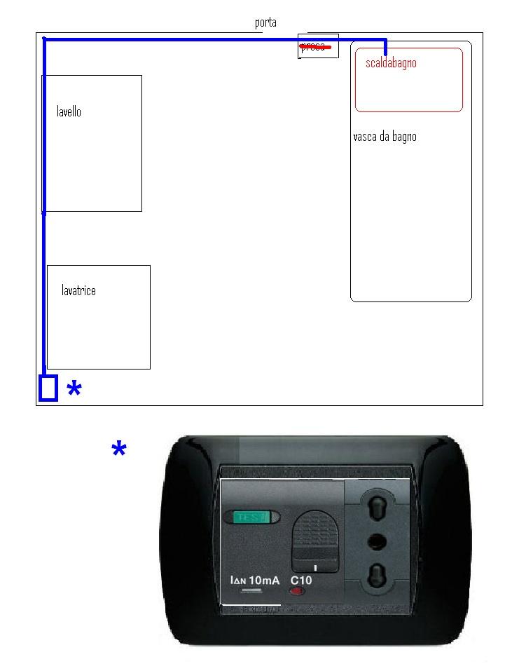 Dubbio collegamento scaldabagno altro su impianti - Installazione scaldabagno elettrico ...