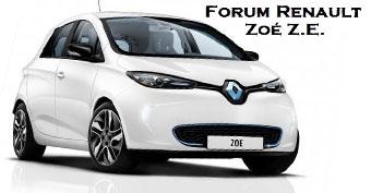 Forum Renault Zoé Z.E.