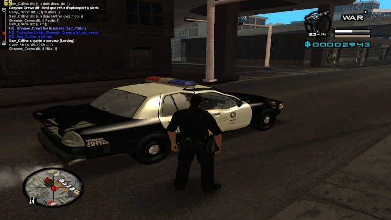 coby carter voiture pack skins lspd interface et armes ic nes merci. Black Bedroom Furniture Sets. Home Design Ideas