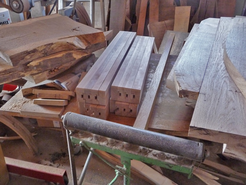 Fabrication d 39 une table ronde page 2 - Fabrication d une table ...