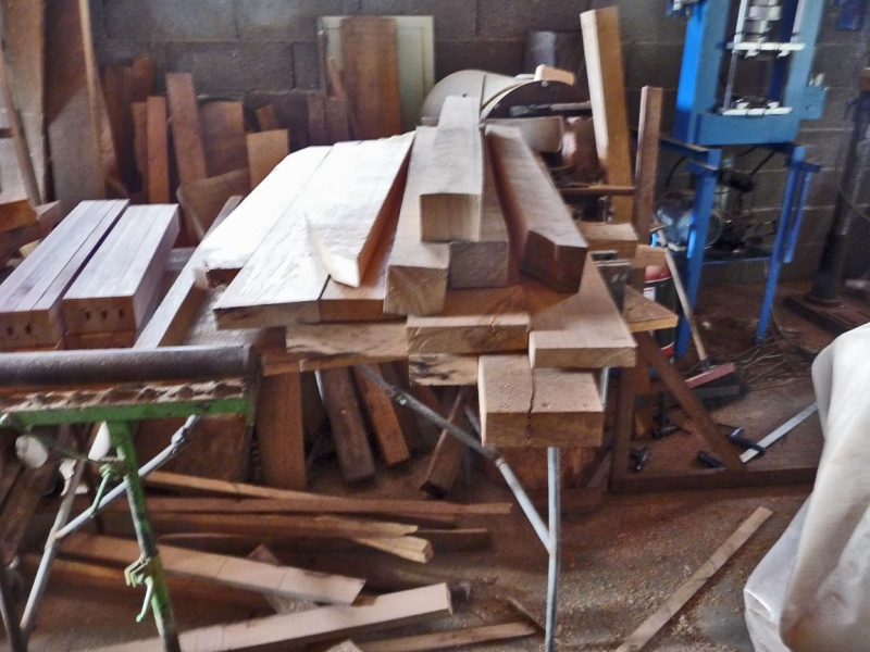 Fabrication d 39 une table ronde page 3 - Fabrication d une table ...