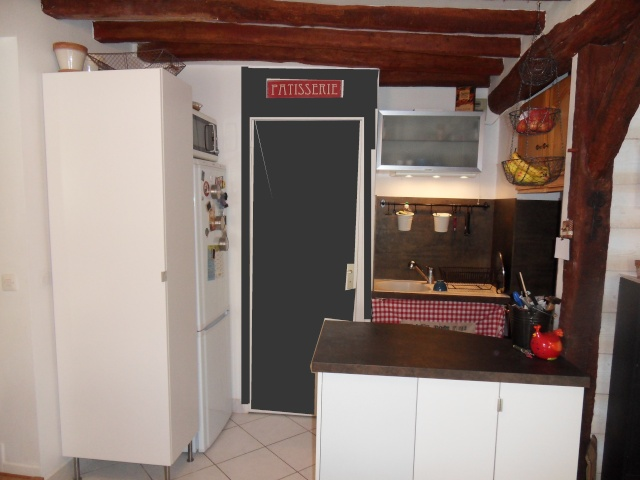cuisine avis mur ardoise. Black Bedroom Furniture Sets. Home Design Ideas