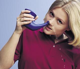 Jala neti est une technique de yoga pour nettoyer le nez for Interieur du nez
